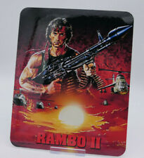 RAMBO 2 - Glossy Bluray Steelbook Magnet Cover (NOT LENTICULAR)