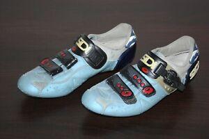 Sidi Rennradschuhe Genius 5 Hellblau / Dunkelblau Blau Gr. 42 Fahrradschuhe