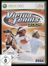 XBOX 360 VIRTUA TENNIS 2009 mit Boris Becker u.a. *** NEU ***