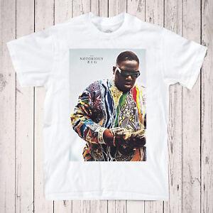 Biggie Smalls T-Shirt - 90's Hip Hop legend Notorious BIG