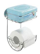 Rollenhalter Wenko Toilettentücher WC Toilettenpapierhalter Feuchttücherbox Klo