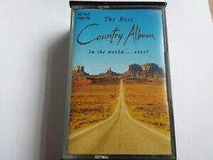 THE BEST OF COUNTRY - DOUBLE CASSETTE TAPE  - (1994) (EX+ TESTED)