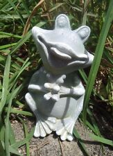 "Latex only sitting frog mold plaster concrete casting mould 5.5"" x 3"""