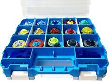 1 Beyblade Storage Organizer Holder Display Case Box 34 Adjustable Compartments