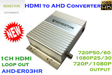 BENESTON HDMI to AHD Converter /EDID /720p or 1080p/HDMI loop out/ 4-500 Meters