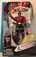 NIB Saban's Power Rangers SAMURAI Armor Morphin Ranger FIRE FUEGO 31721 Bandai