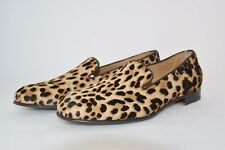 WOMAN-DONNA-41eu-SLIPPER-PANTOFOLA-LEOPARD PONY-PONY LEOPARDATO-LEATHER SOLE