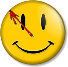 "Watchmen Smiley 1"" 25mm Pin Button Badge Novelty Geek DC Comics Blood Superhero"