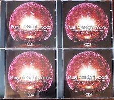 PURE LATE NIGHT MOODS..4 x CD BOX SET. NEAR MINT. UK DISPATCH