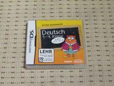 Fit pour le lycée allemand 1.-4. classe pour Nintendo DS, DS Lite, DSi XL, 3 DS