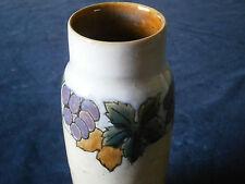 Royal Doulton Lambeth Vase in stunning & rare grape design.