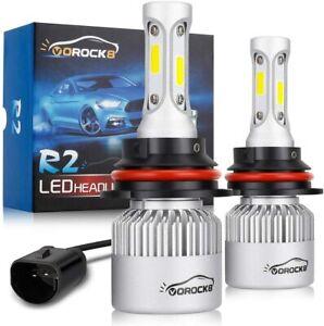 VoRock8 R2 COB 9007 HB5 8000 Lumens Led Head Iight Conversion Kit, High Low Beam