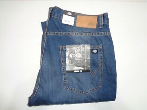 "Dickies Pensacola dark blue Jeans Waist 46"" x Leg 34"" mens loose fit"