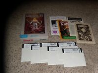 "Ultima VI The False Prophet IBM PC box & manual 5.25"" disks 2-7 Missing disk 1"