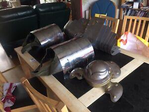 Roman Armour Replica Helmet Breast Plates Shoulder Plates
