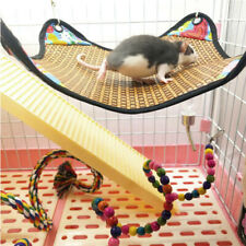 BL_ FP- Small Animal Hamster Rabbit Hammock Hanging Sleeping Mat Cage Bed Toy Ne