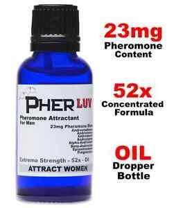 PHEROMONES FOR MEN - Oil Dropper Bottle