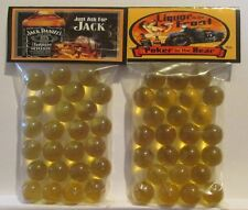 2 Bags Of Just Ask For Jack Daniels Whiskey Promo Marbles