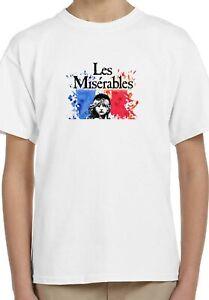Les Misérables Movie Art Poster Holiday Kids Unisex Birthday Gift T-Shirt 145