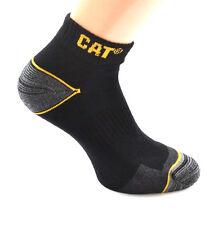 6 CAT® Caterpillar SNEAKER Socken Arbeitssocken Sneakers 43 44 45 46 schwarz Neu