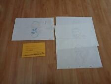 Space Jam Animation Original Tight Sniffles Drawing + Color Guide Michael Jordan