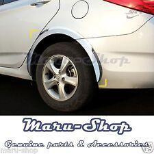 Chrome Wheel Well Fender Cover Trim for 12~17 Hyundai Accent/Verna 4DR