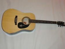 SHOOTER JENNINGS SIGNED NATURAL ACOUSTIC GUITAR COUNTRY WAYLON PROOF