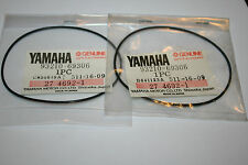 nos Yamaha snowmobile head gaskets o-ring  srx340 1976 2 pieces vintage race