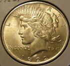 BU 1922 Peace Dollar 90% Silver Very Nice 130923-16