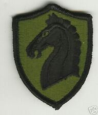 United States 107th Cavalry Patch