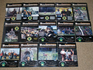 14 issue lot PENNSYLVANIA BOWHUNTING Official Publication of the UBP PA archery
