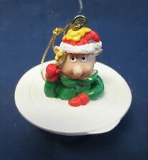 Rare Tupperware Remarkabowl Elf Holiday Ornament Consultant Awards New In Box