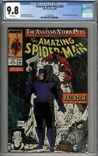 Amazing Spider-Man #320 CGC 9.8 NM/MT Todd McFarlane Art WHITE PAGES