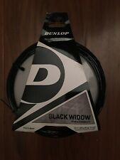 Dunlop Black Widow 17 Gauge 1.26mm Tennis String NEW