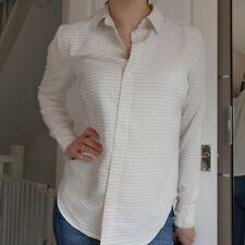 Cream Long Sleeve Blouse Shirt