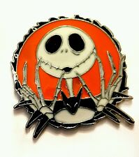 I Nightmare Before Christmas Jack in Smalto Arancione in Metallo Pin Badge Spilla 40mm