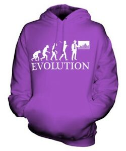 CONSTRUCTION MANAGER EVOLUTION OF MAN UNISEX HOODIE MENS WOMENS LADIES GIFT