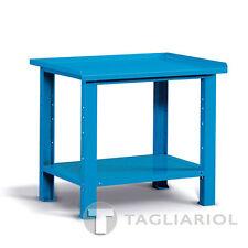 BANCO LAVORO BLU PIANO ACCIAIO OFFICINA MIAL IDEAONE 06 030