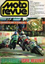 B4- Moto Revue N°2604 GP d'Italie Espie revient,Suzuki GSX 550 et GR 650