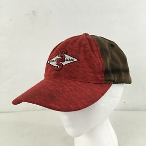 Vtg Select Sires Red Brown One Size Baseball Cap
