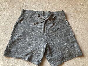 Justice girls Active bermuda shorts, size 18-20, grey, all cotton, comfy