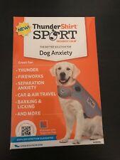 NEW! ThunderShirt Sport XL Platinum Dog Anxiety Solution