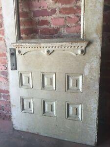 """30x79"""" half-glass Victorian front door"""