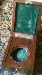 Vintage Japanese military ww ll chronometer wooden  box.