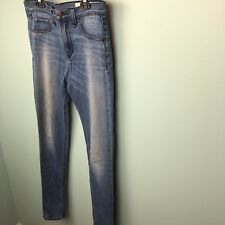 Rag & Bone Womens High Rise Jeans Leggings Size 27, Blue, Skinny