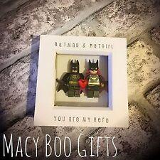 La Batgirl di Batman e LEGO CORNICE San Valentino regalo fidanzato fidanzata moglie