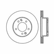 Centric 121.45022 Front Disc Brake Rotor-C-TEK Standard-Preferred For 86-91 RX-7