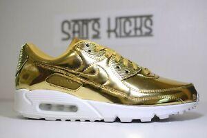Nike Air Max 90 SP (W) Metallic Gold [CQ6639-700] [Size 6-16.5] LIMITED