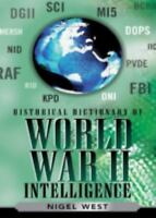 Historical Dictionary of World War II Intelligence New Hardcover Book