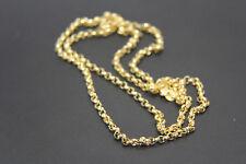 Goldkette Kette  585 14K ECHT GOLD 55cm 1,5mm NEUWERTIG Geschenk Taufe TOP